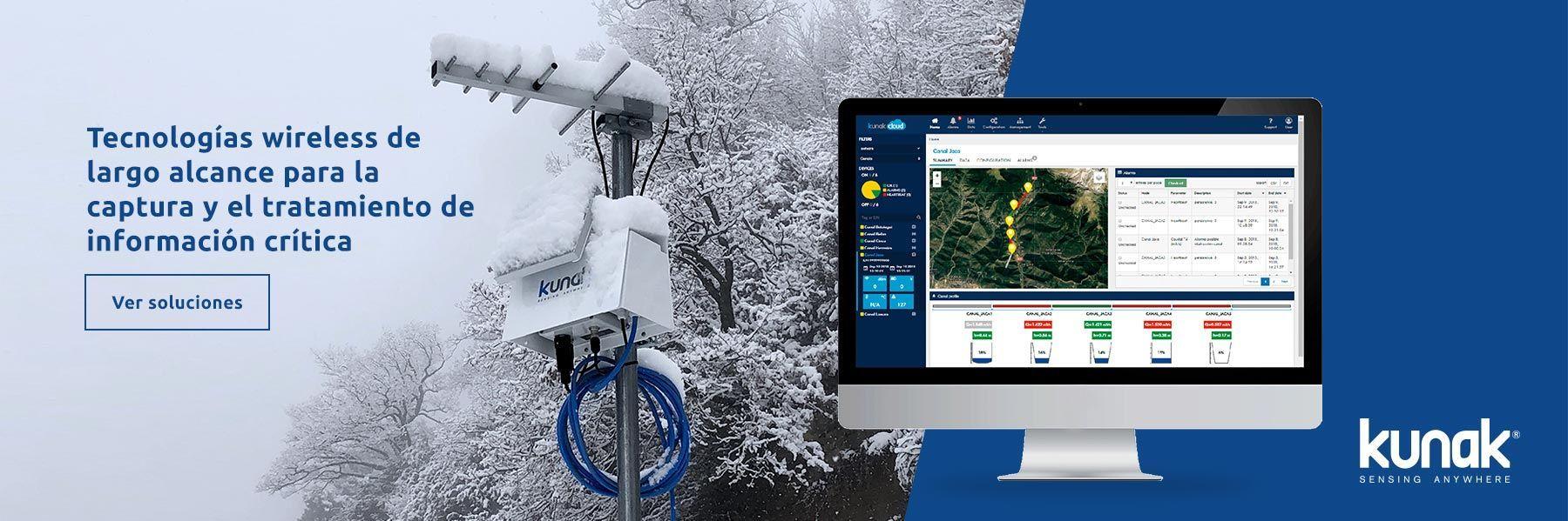 Tecnologías wireless de largo alcance para la captura y el tratamiento de información crítica