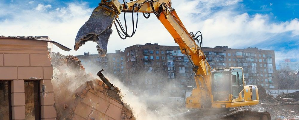Air pollution, an aspect to be assessed not only during a demolition, but also in the construction phase