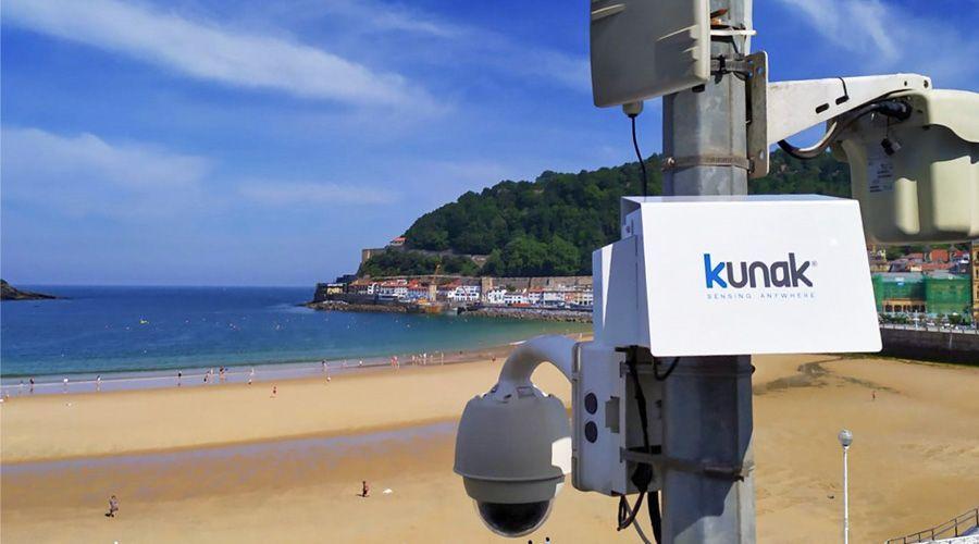 Sensores de calidad del aire urbano en Donostia/San Sebastián