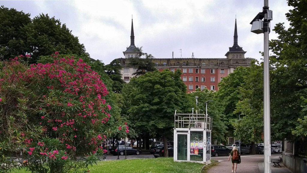 Estaciones de calidad del aire en Donostia