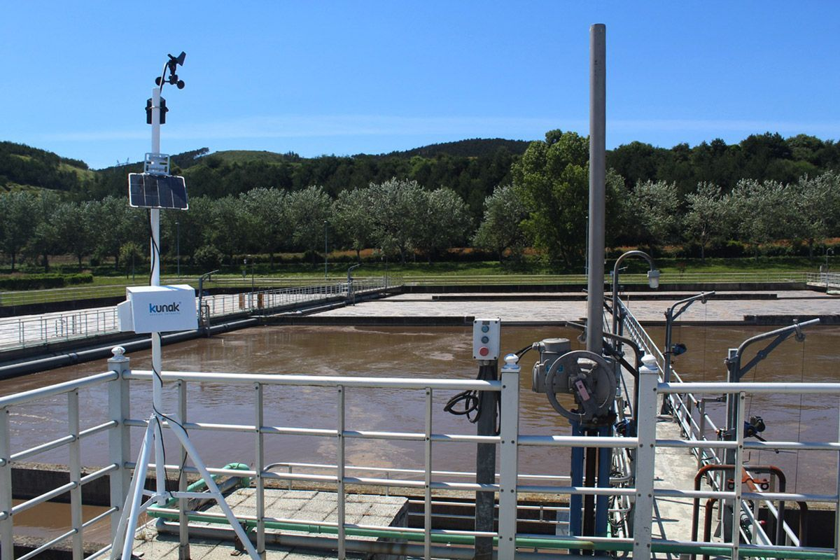 Monitoring of the bad odour contamination of the WWTP of Arazuri (Navarra)