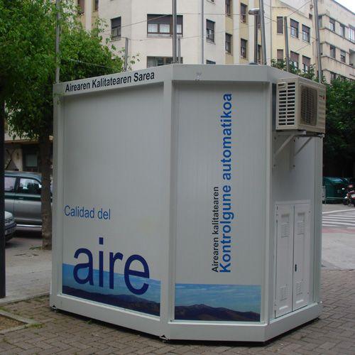 estación de referencia de la calidad del aire