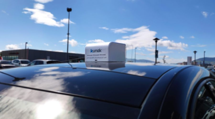Mobile air quality monitors