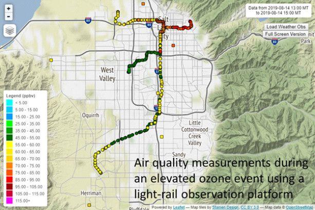 Monitores de calidad de aire móviles: más datos, mejores decisiones